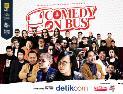 Comedy On Bus Image