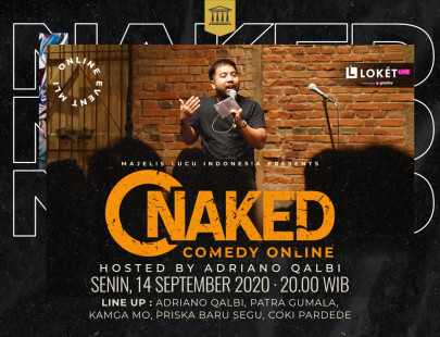 NAKED COMEDY ONLINE