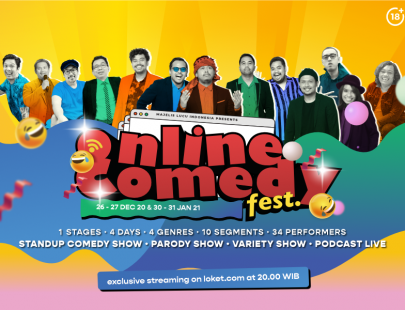 Online Comedy Fest Image