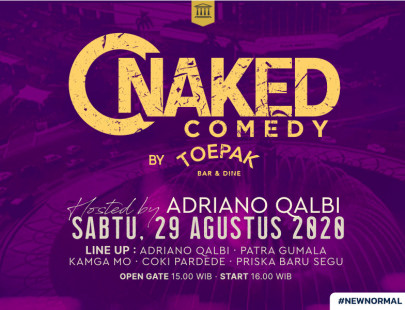 Naked Comedy by Toepak Image